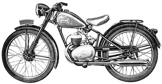 Villiers inbouwmotoren