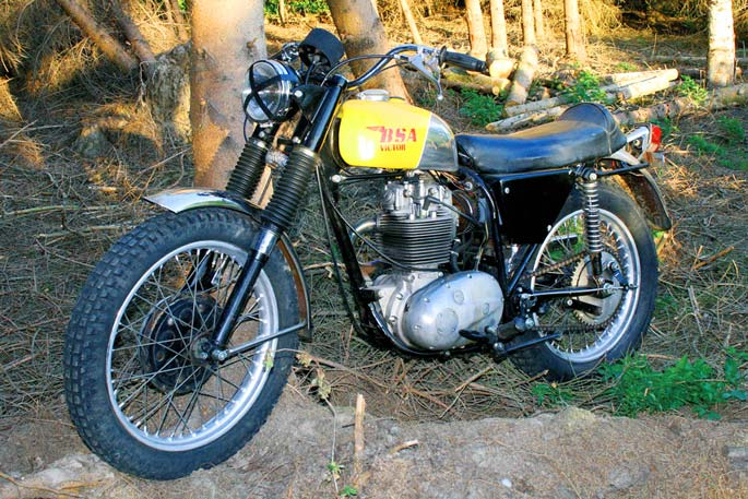 BSA Victor Special